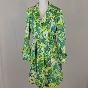 Nine West Floral Pattern Coat in Small.